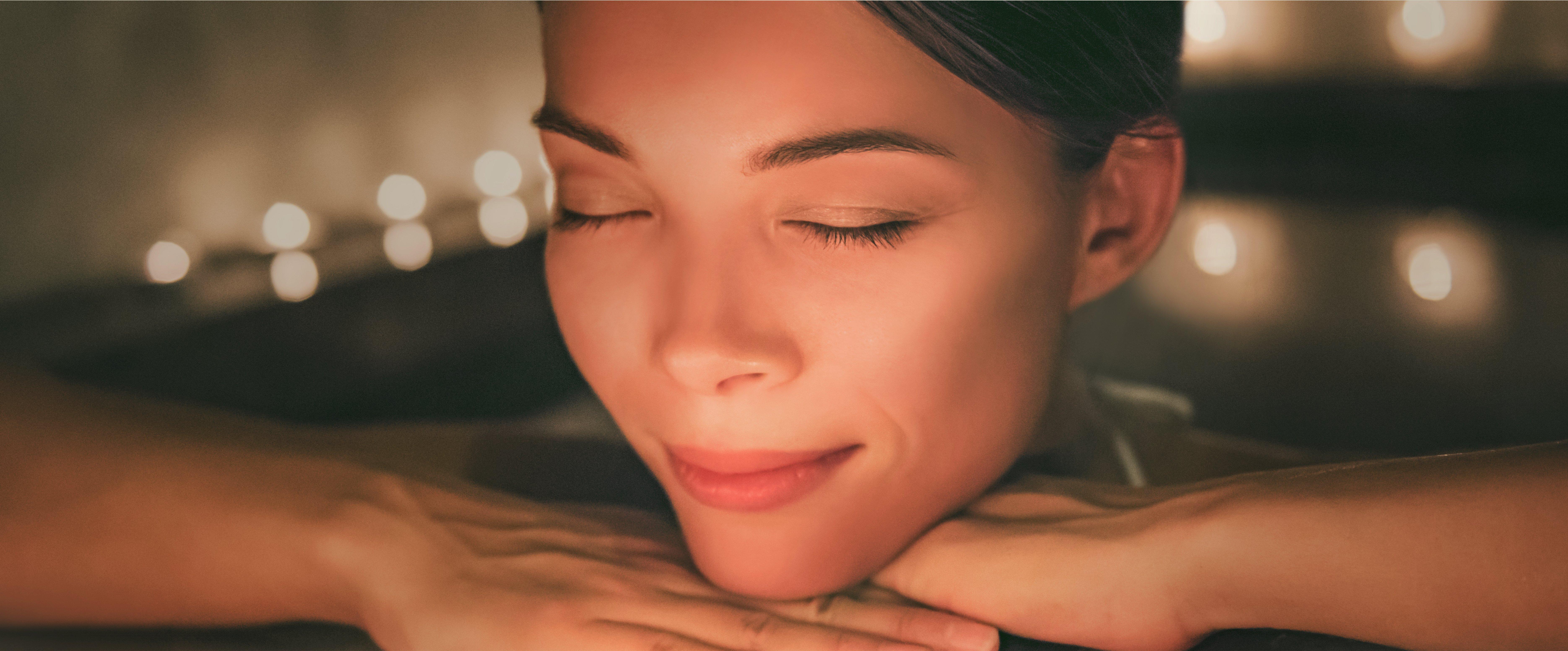 Wasserbett-massage