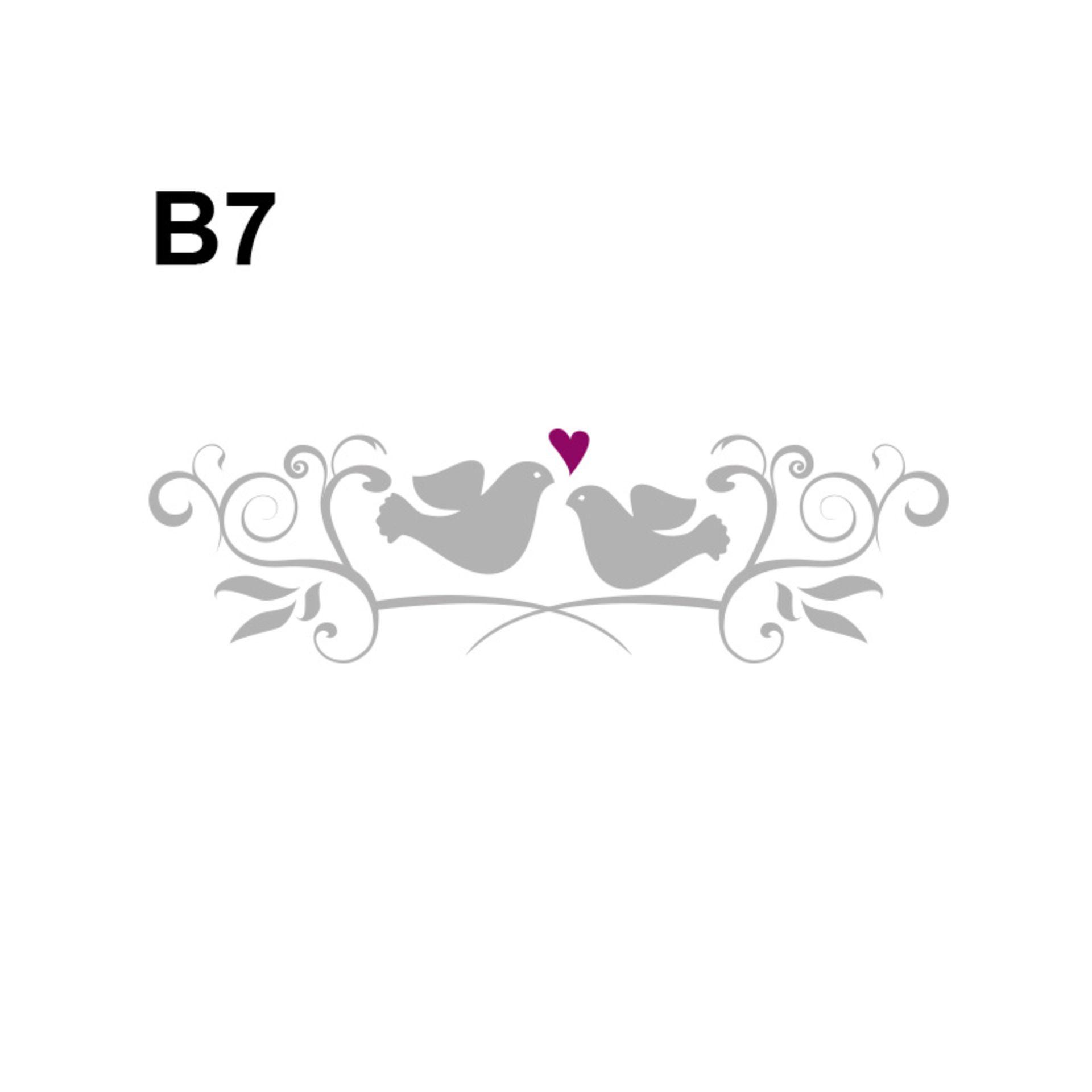 Hochzeitslogos für alle Turteltäubchen
