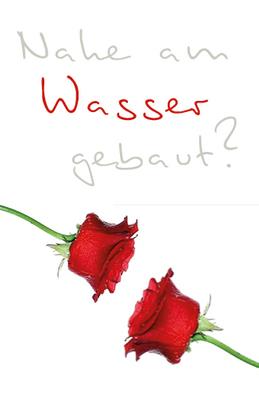 Taschentuchhüllen rosen paar in rot