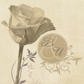Geschenkanhänger blühe du rose