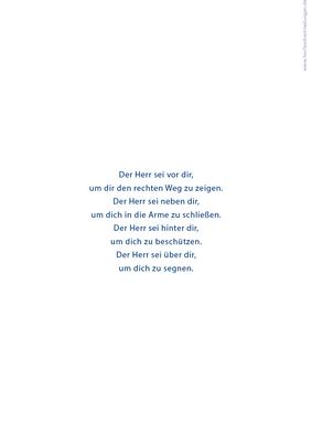 Kirchenhefte - Marienkäfer - Taufkarten